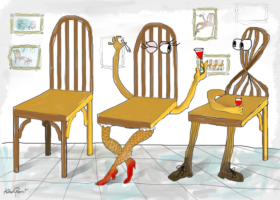 Cheers to chairs by altergromit