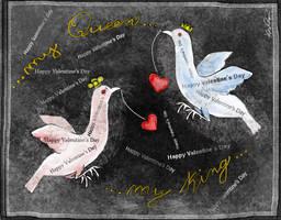 Fly, my Valentine! by altergromit