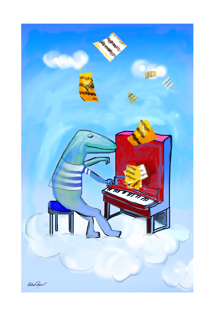 Piano man by altergromit