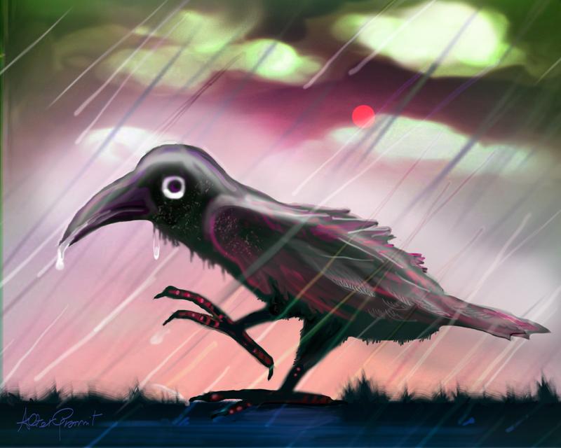 Just Crow by altergromit