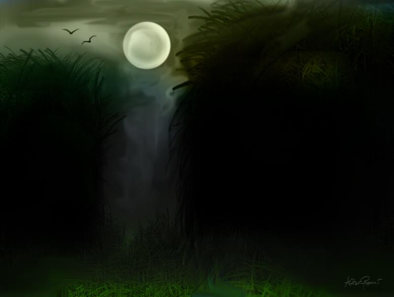 Through The Dark Woods by altergromit