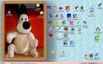 Gromit on my desktop