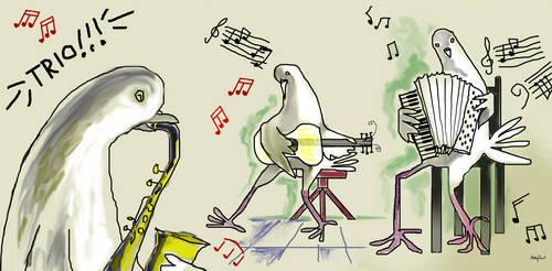 My Odd Pigeons' Trio