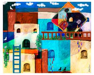 Weeping Houses by altergromit