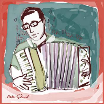 The Accordion Teacher by altergromit