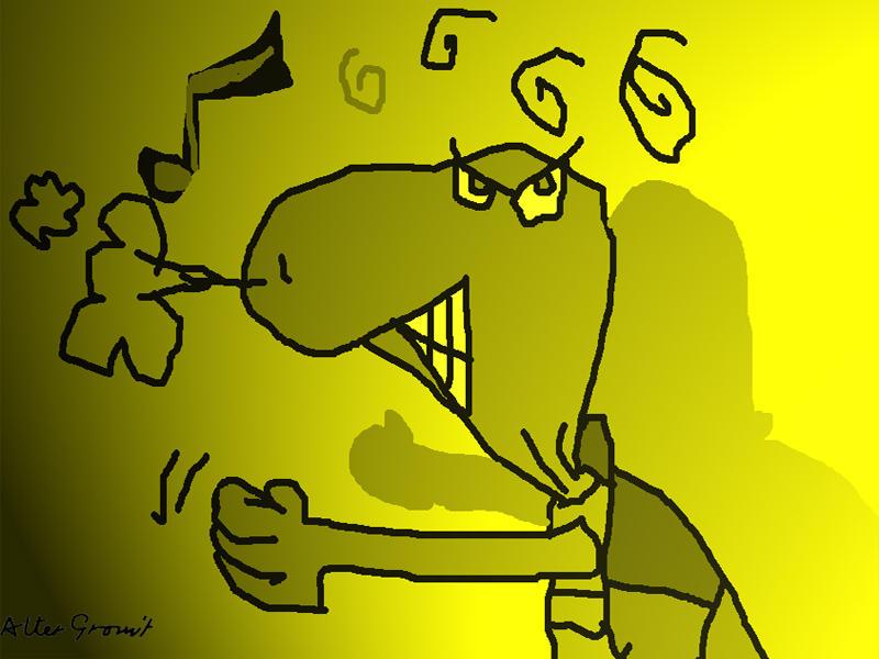 August 7, 2005 - Yellow rage by altergromit