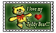 I Love My Teddy Bear by altergromit