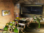 Turtles' school