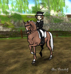 Star Stable Online- Alice + Airrider by AliceWinterbell