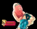 Render Sakura y Sasuke