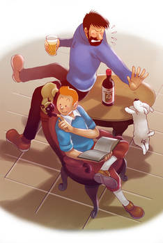 Tintin: An Usual Day in Marlinspike