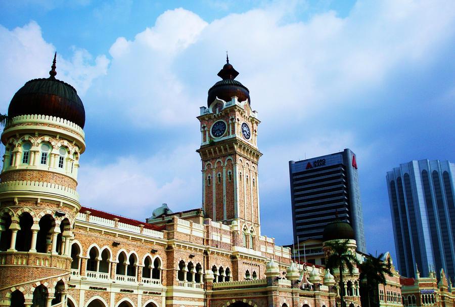 Bangunan sultan abdul samad by shazvio