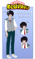 bnha oc  natsume by oathfell