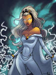Storm colored by mennyo