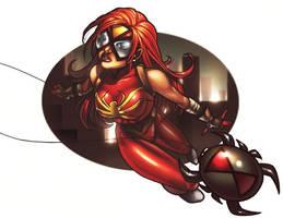 spider-woman part deux by JamieFayX
