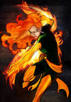 phoenix colored by emilyseal