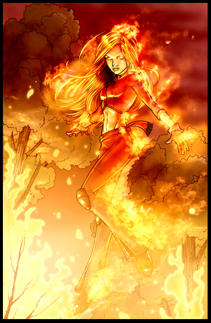 firebomb page colored by vest by JamieFayX