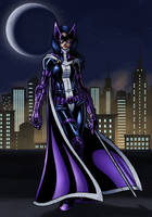 huntress colored by JamieFayX