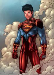 Superboy Is Back..... by JamieFayX