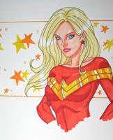 wondergirl sketch by JamieFayX