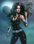 Donna Troy Colored-Commission