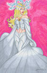 Emma Frost Hand Colored