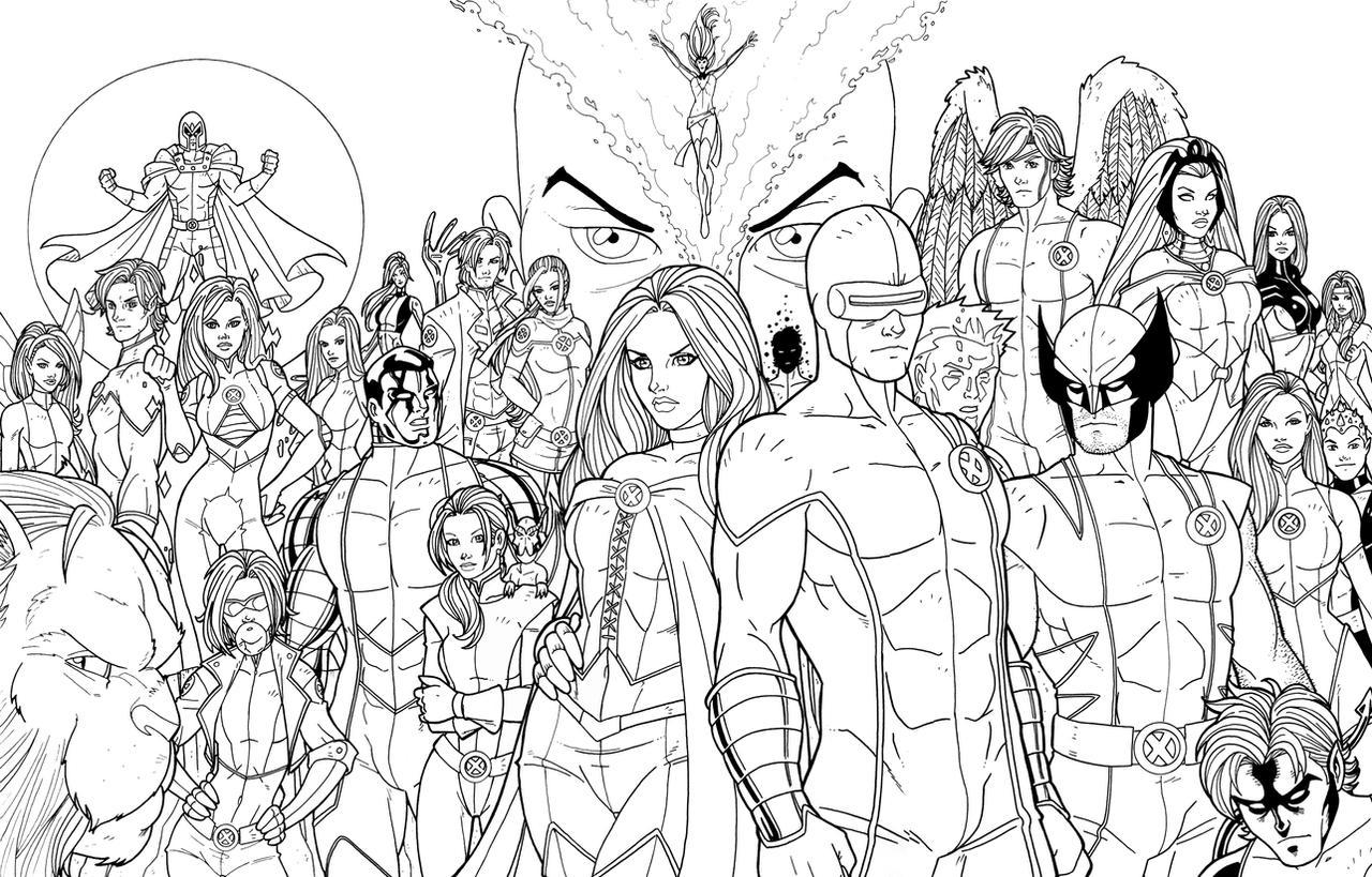 Xavier's Army by JamieFayX