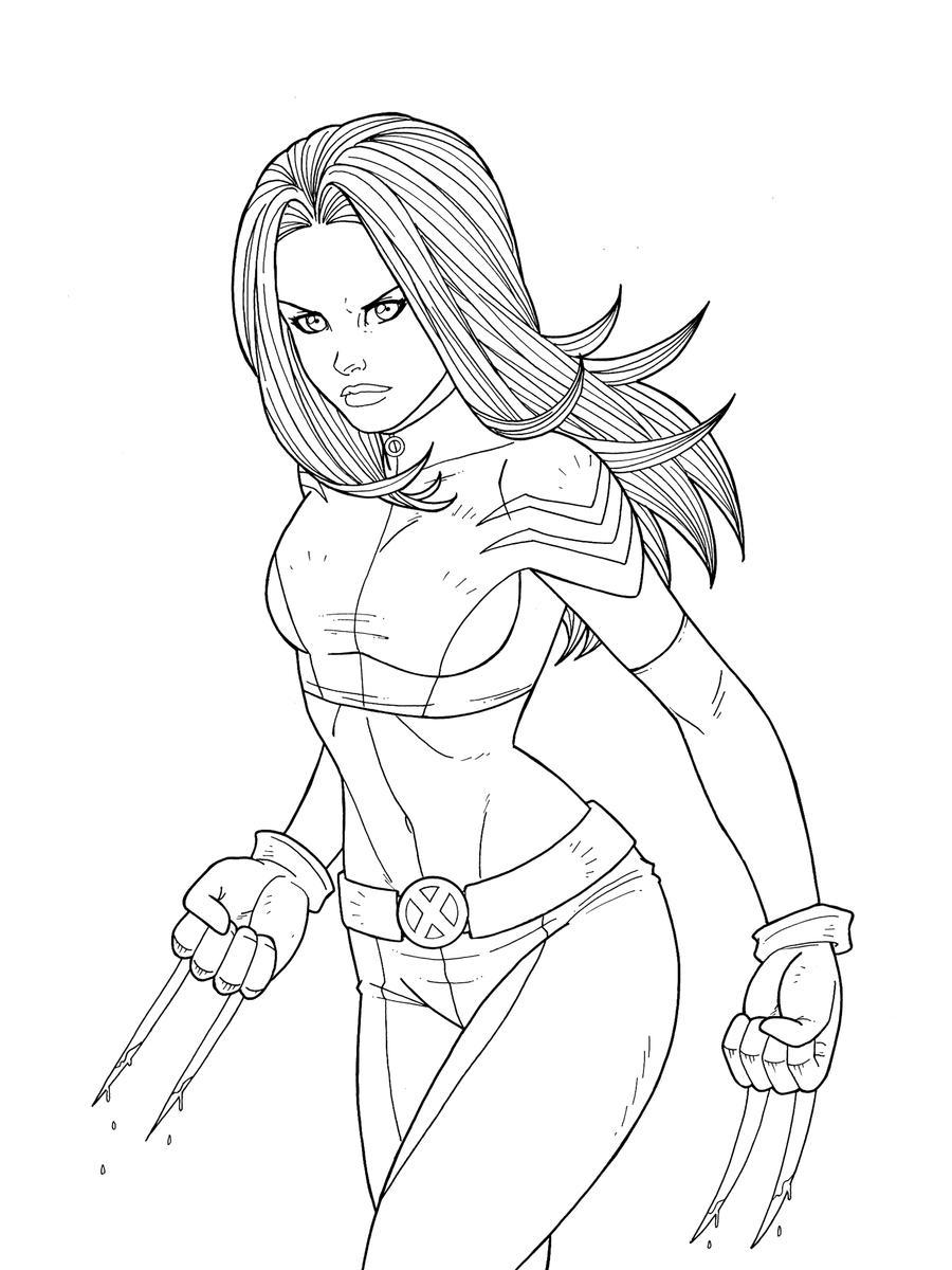 X-23 - Commission by JamieFayX