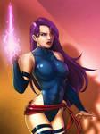 Psylocke - Colored 2