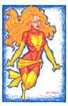 Dark Phoenix Con Sketch