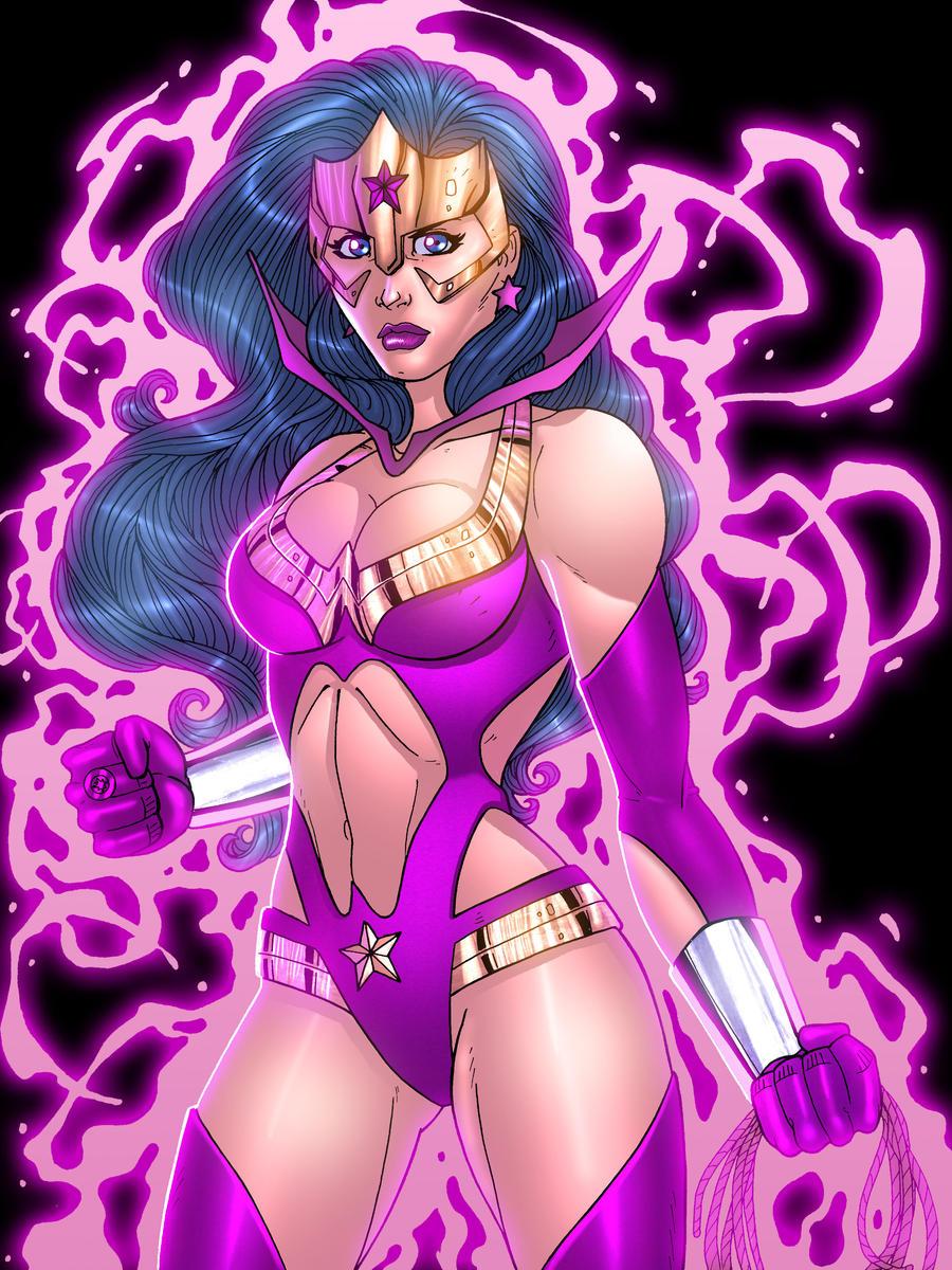 StarSapphire WonderWoman by JamieFayX