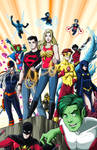 Teen Titans - Colored