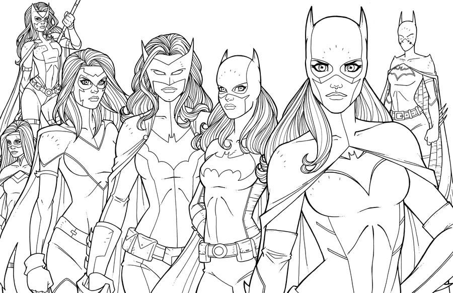 Bat Women by JamieFayX