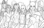 Bat Women - Gotham by JamieFayX