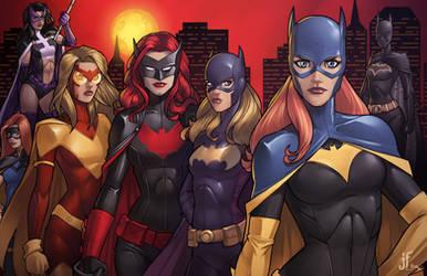 BatWomen by JamieFayX