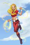 WonderGirl - Colored