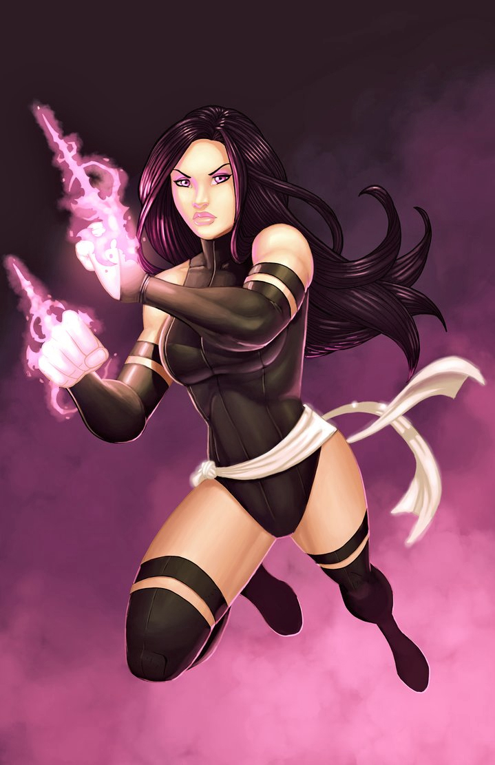 X-Force Psylocke by JamieFayX
