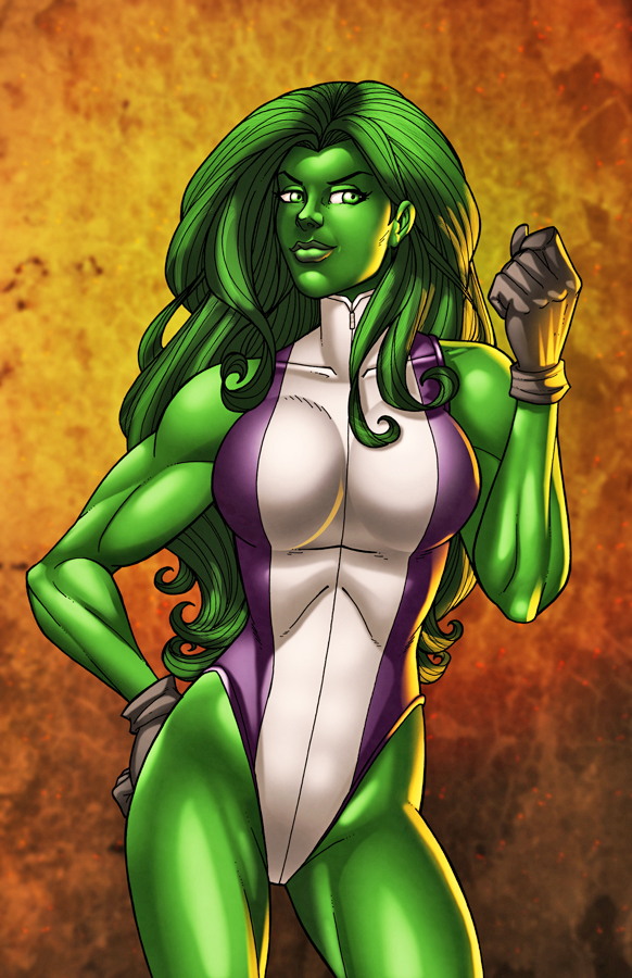 She-Hulked by JamieFayX