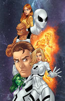 Fantastic Four/Future Foundation Colors by JamieFayX