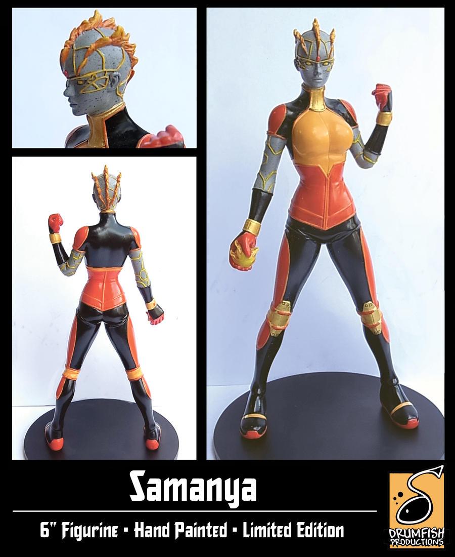 Samanya-Figurine by JamieFayX