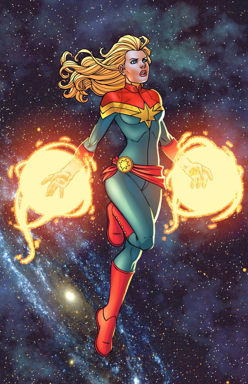 Captain Marvel - SotoColor by JamieFayX