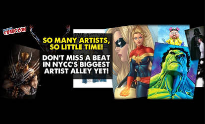 NYCC Artist Alley Promo