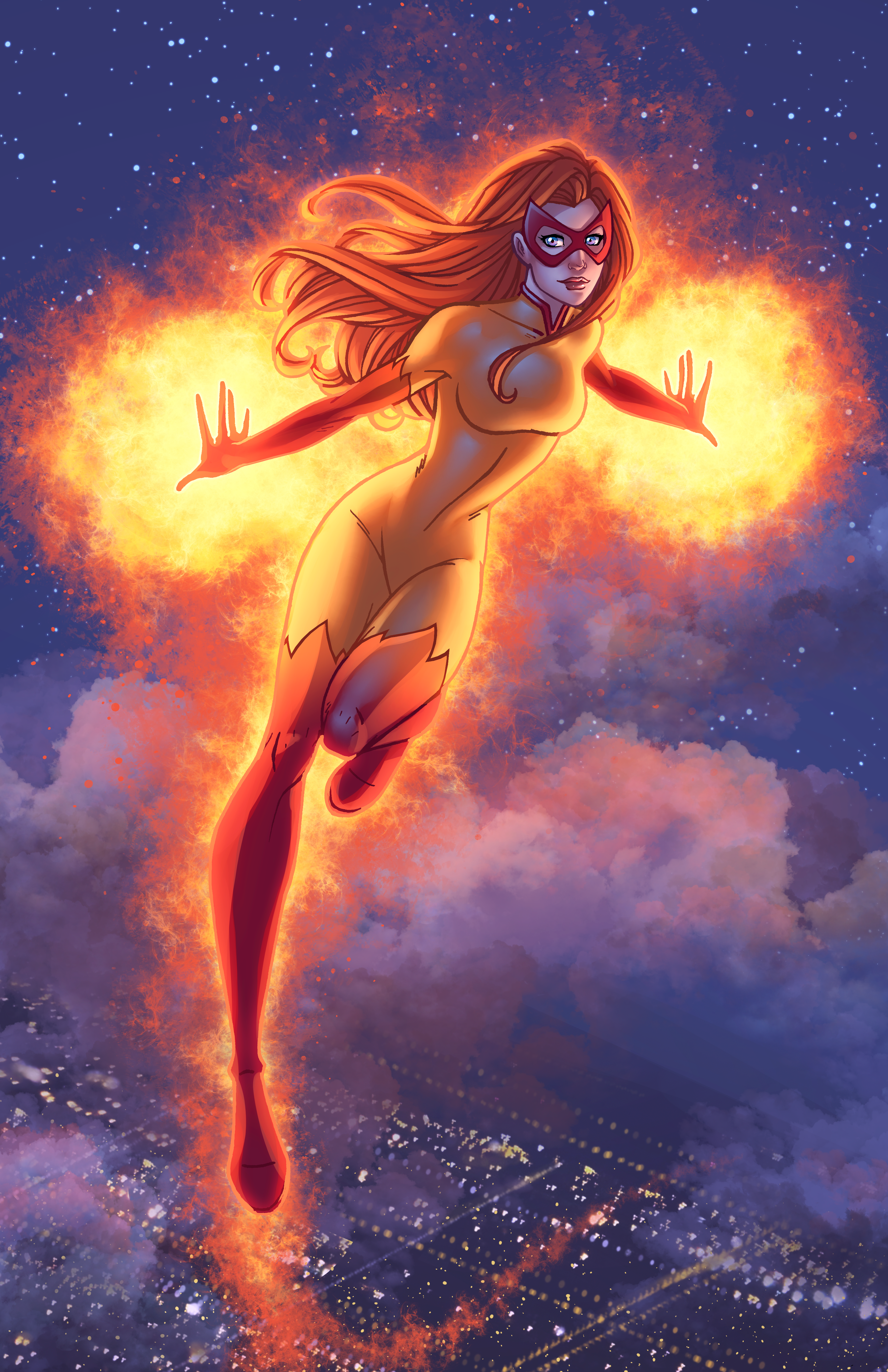Firestar - Colored by JamieFayX