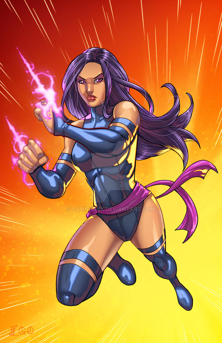 Psylocke Unleashed by JamieFayX