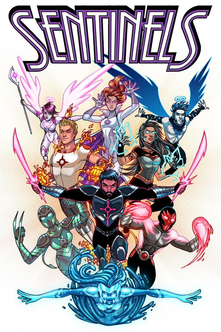 Sentinels Anthlogy 2 Cover by JamieFayX