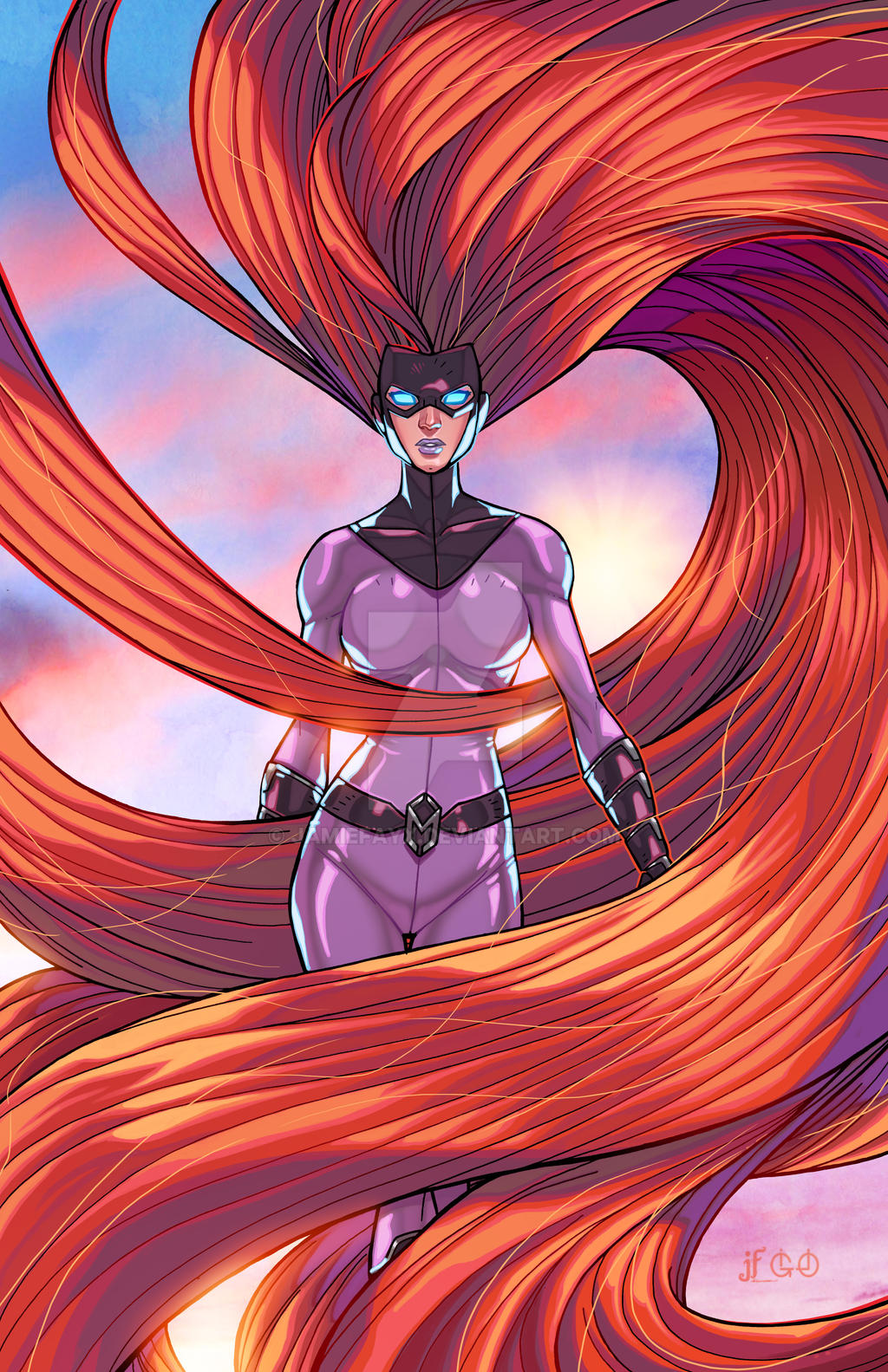 The Queen of the Inhumans - Medusa by JamieFayX