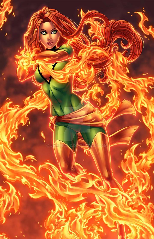 Phoenix Rising by JamieFayX