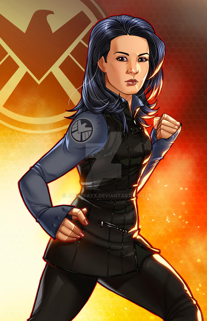 Agent May - The Cavalry by JamieFayX