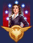 Agent Carter - TShirt Design