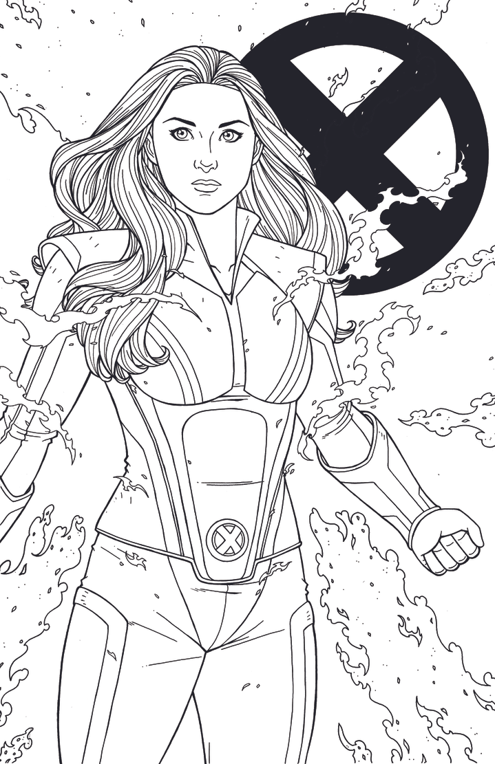 enchantress marvel coloring pages - photo#49